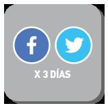 Redes Sociales - Facebook y Twitter