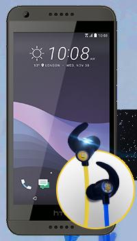HTC Desire 650 - audífonos Emoji