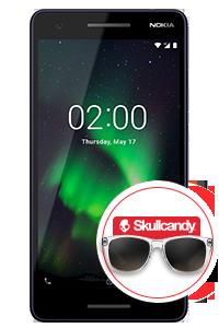 Nokia 2 1 + Lentes Skullcandy