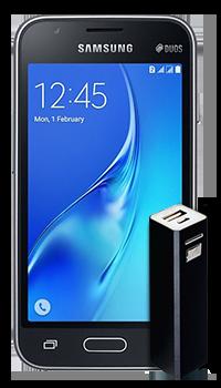 Samsung Galaxy J1 mini + cargador