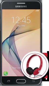 Samsung Galaxy J5 PRIME +  Audífonos Up Rock
