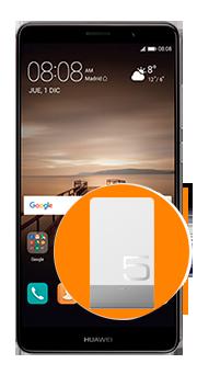 Huawei Mate 9 + Power Bank