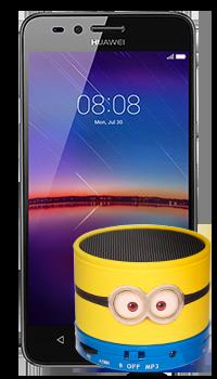 Huawei Y3 II Luna + parlante Minions