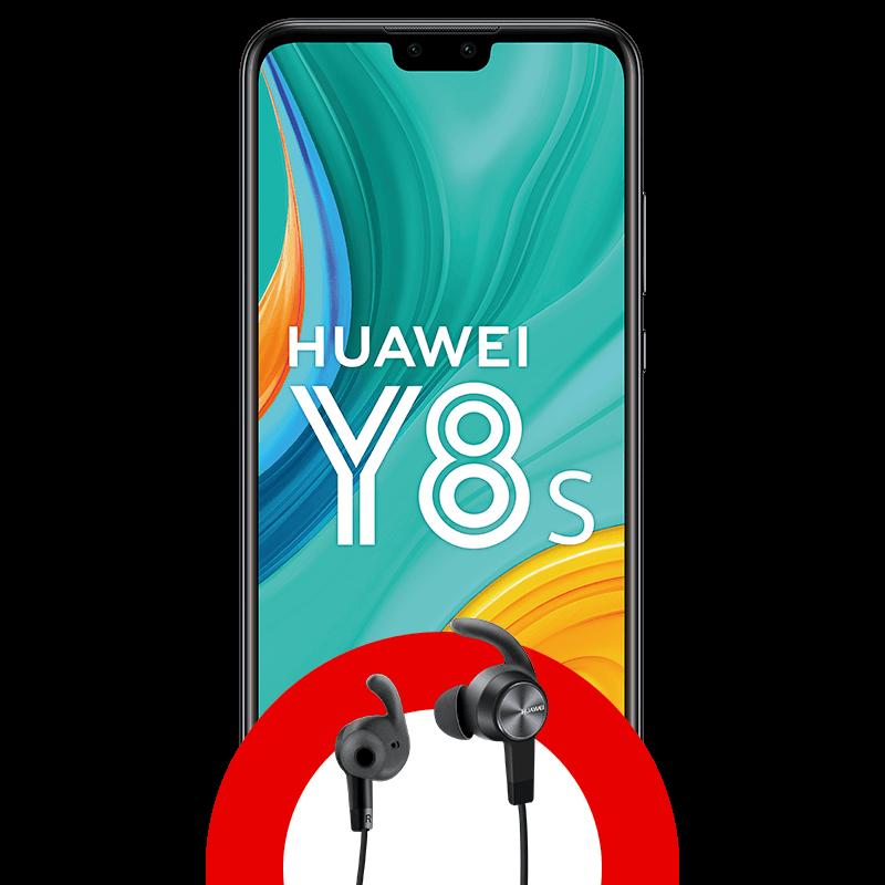 Huawei Y8s 64GB + Audífonos bluetooth sport lite