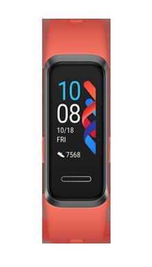 Huawei Band 4 Rojo