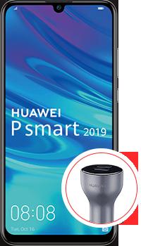 Huawei P smart 2019 64GB + Cargador de auto