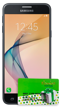 Galaxy J5 PRIME + Gift Card