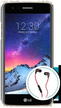 LG K8 2017 + Audífonos Skullcandy