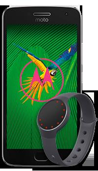 Motorola Moto G5 Plus + Reloj Misfit
