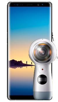 Samsung Galaxy Note 8 + Gear 360