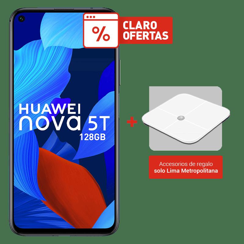 Huawei Nova 5T 128GB +  Huawei Balanza Smart Scale