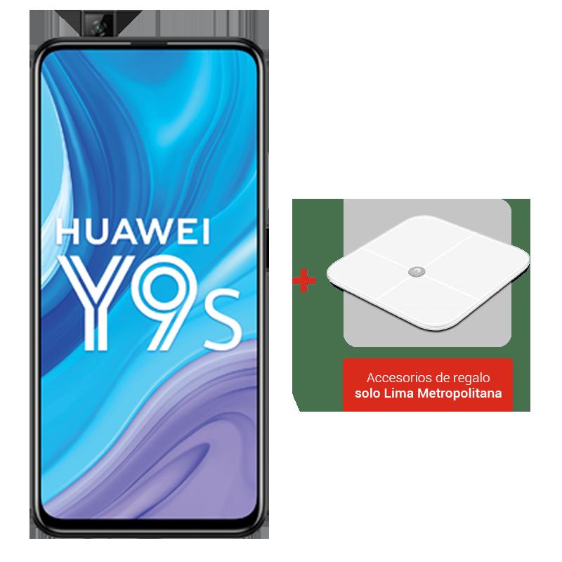 Huawei Y9s 128 GB + Balanza Huawei Body Scale