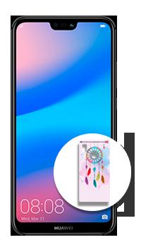 Huawei P20 Lite + Case