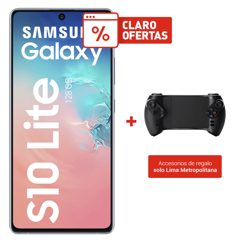 Samsung Galaxy S10 Lite 128GB + Gamepad