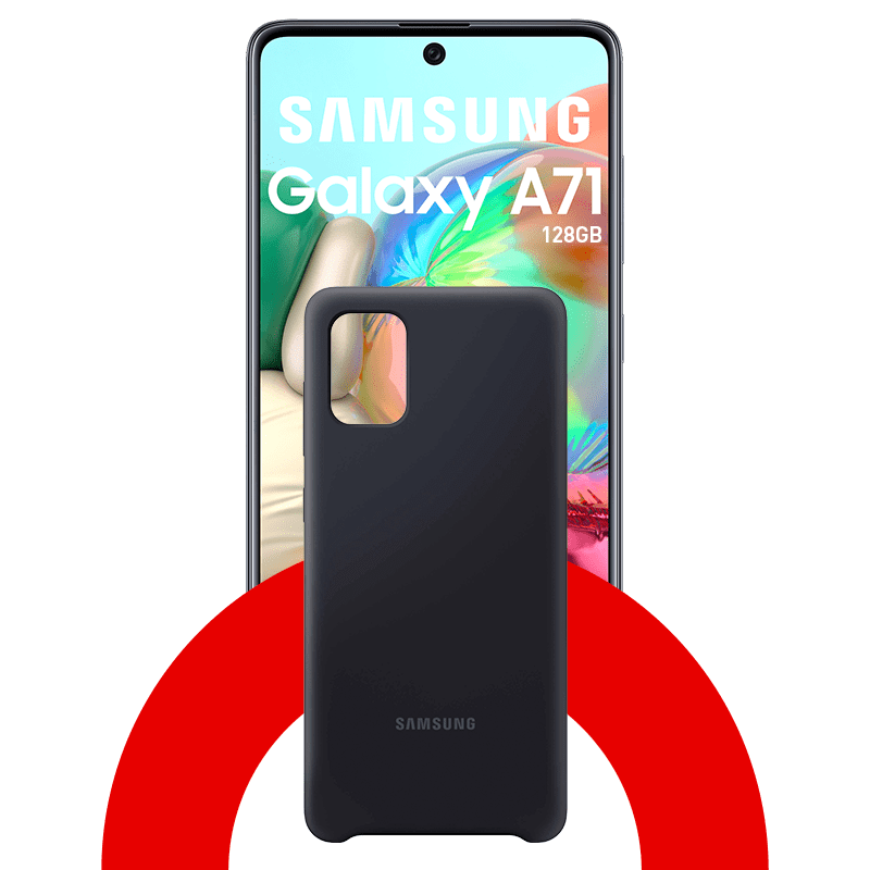 Samsung Galaxy A71 128GB + Case
