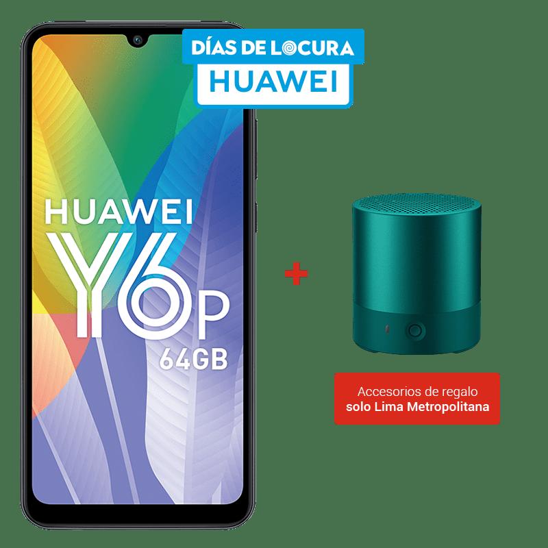 Huawei Y6P 64GB + Parlante Bluetooth Mini CM510