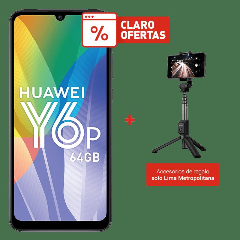 Huawei Y6P 64GB + Selfie Trípode AF15