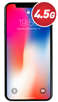 iPhone X - 256GB + Case