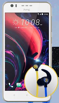 HTC Desire 10 Lifestyle - audífonos Emoji