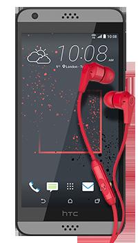 HTC Desire 530 + Audífonos INKD Conectados