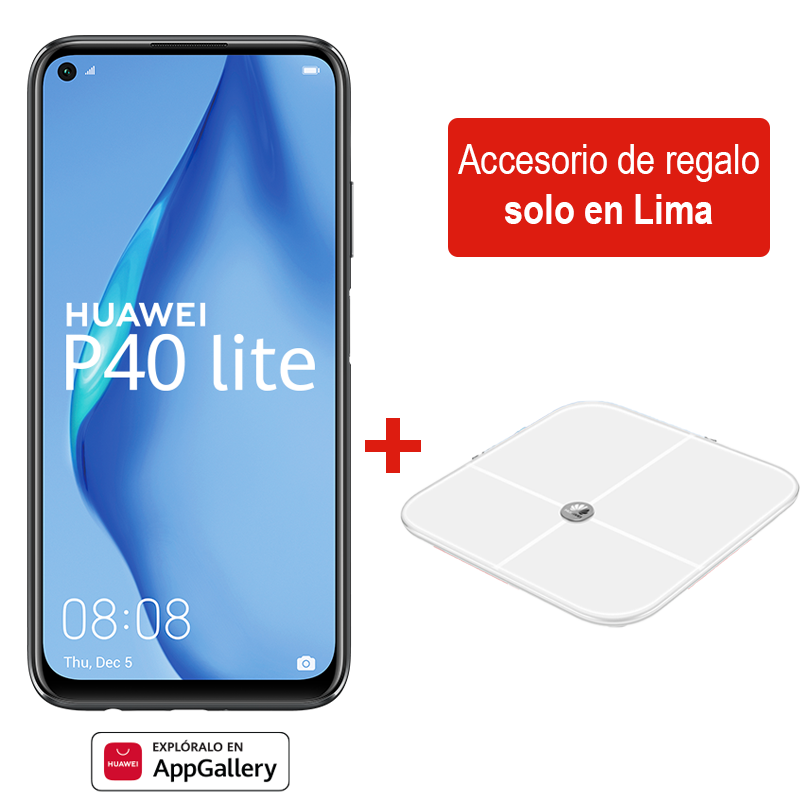 Huawei P40 Lite 128GB + Balanza Smart Scale
