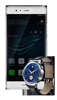 P9 Plus Vienna + Smartwatch W1