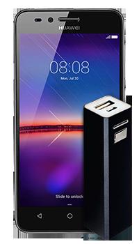 Huawei Y3 II Luna + Cargador portatil Conectados