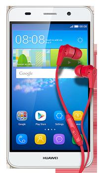 Huawei Y6 + Audífonos INKD Conectados