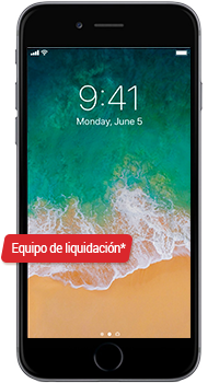 Apple iPhone 6 Plus 64GB Equipo de Liquidación