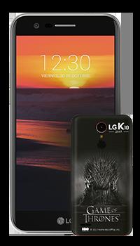 LG K10 2017 + case GoT
