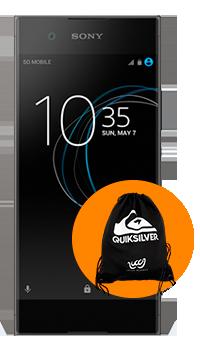 Sony Xperia XA1 + bolso Quiksilver