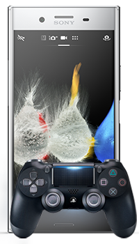 Xperia XZ Premium + mando Dualshock 4