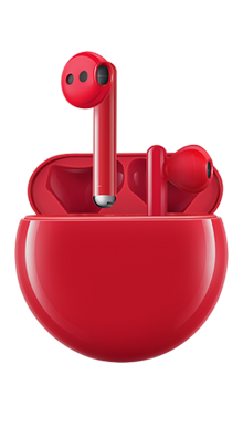 Huawei FreeBuds 3 Rojo