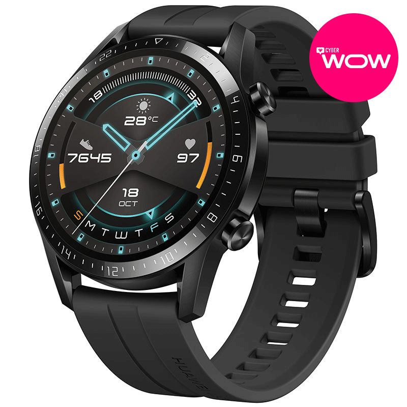 Huawei Smartwatch Huawei Watch GT2 - 46mm - Matte Black