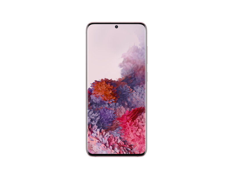 Samsung Celular Galaxy S20 Rosa
