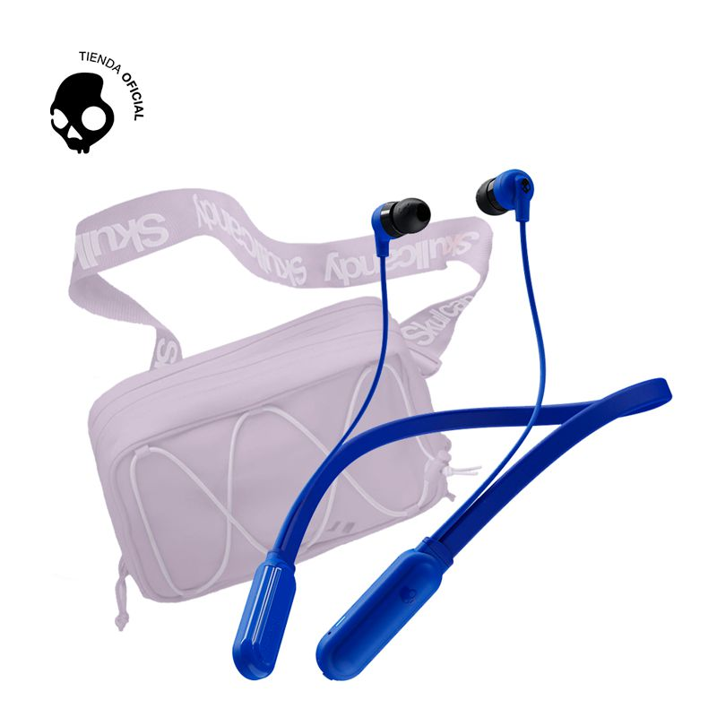 Skullcandy Audifono Skullcandy Ink+ BT Blue + Sidebag Lavander