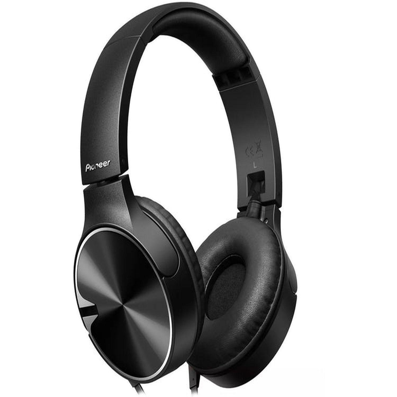 Pioneer Audífono tipo DJ con micrófono,controles,vincha regulable SEMJ722T/K Negro