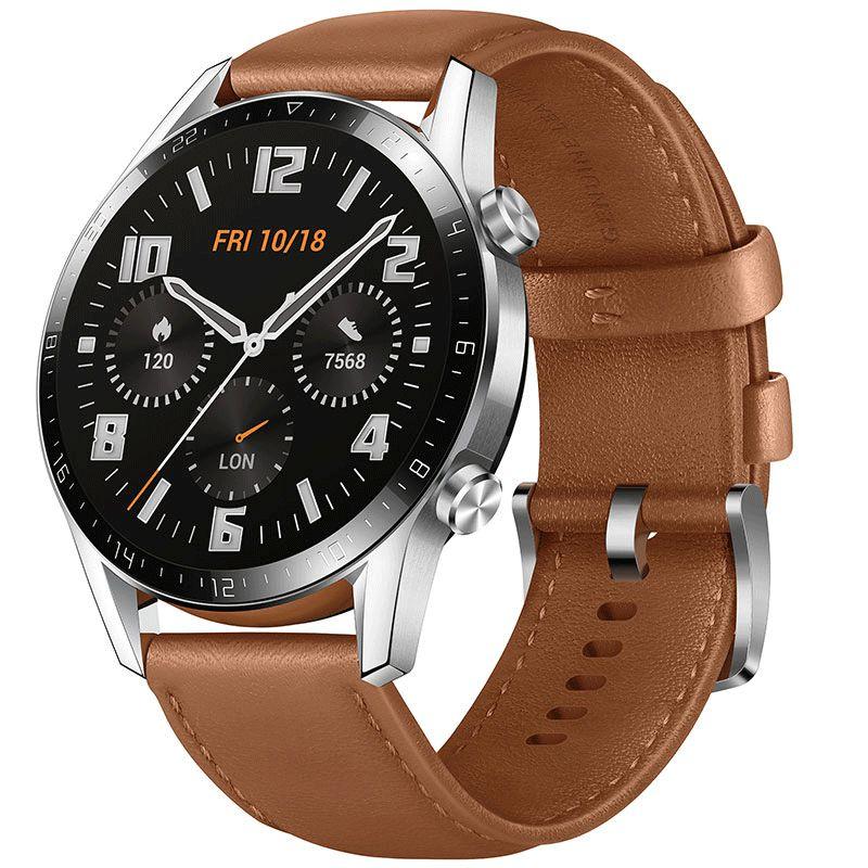 Huawei Smartwatch Huawei Watch GT2 - 46mm - Pebble Brown