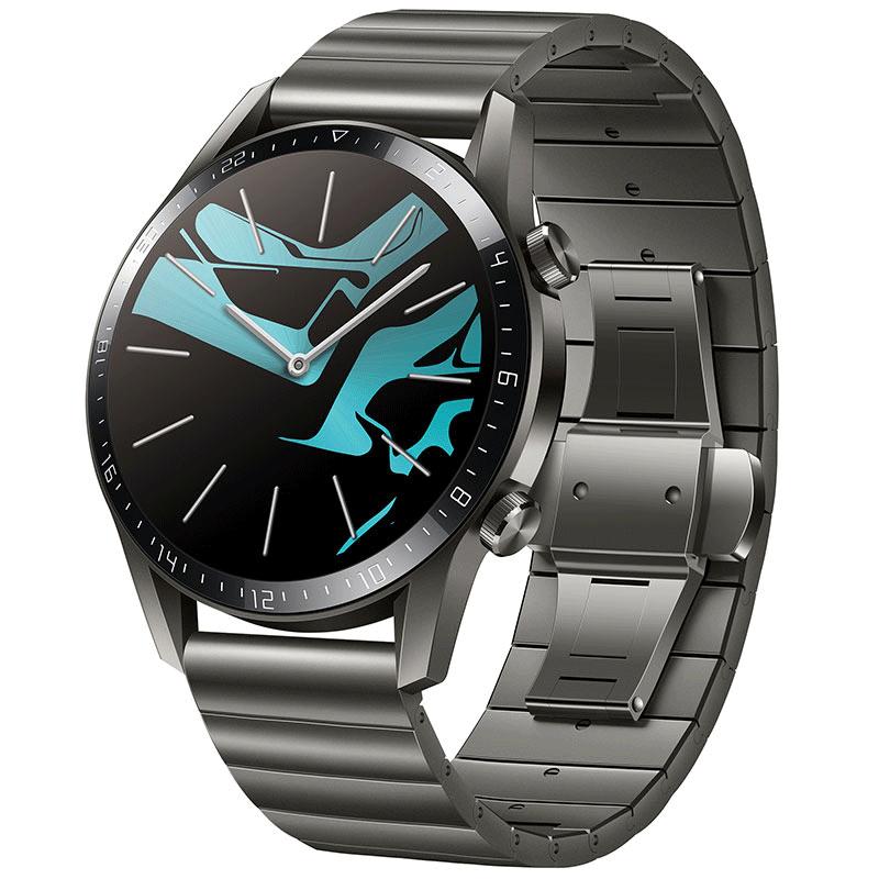 Huawei Smartwatch Huawei Watch GT2 - Elite 46mm - Titanium Gray