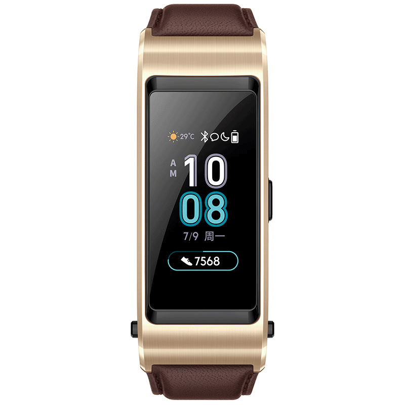 Huawei Talkband B5 Watch Smartband - Mocha Brown