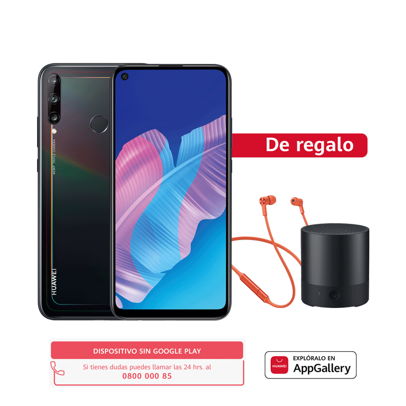 Huawei Y7p 64 GB - Negro