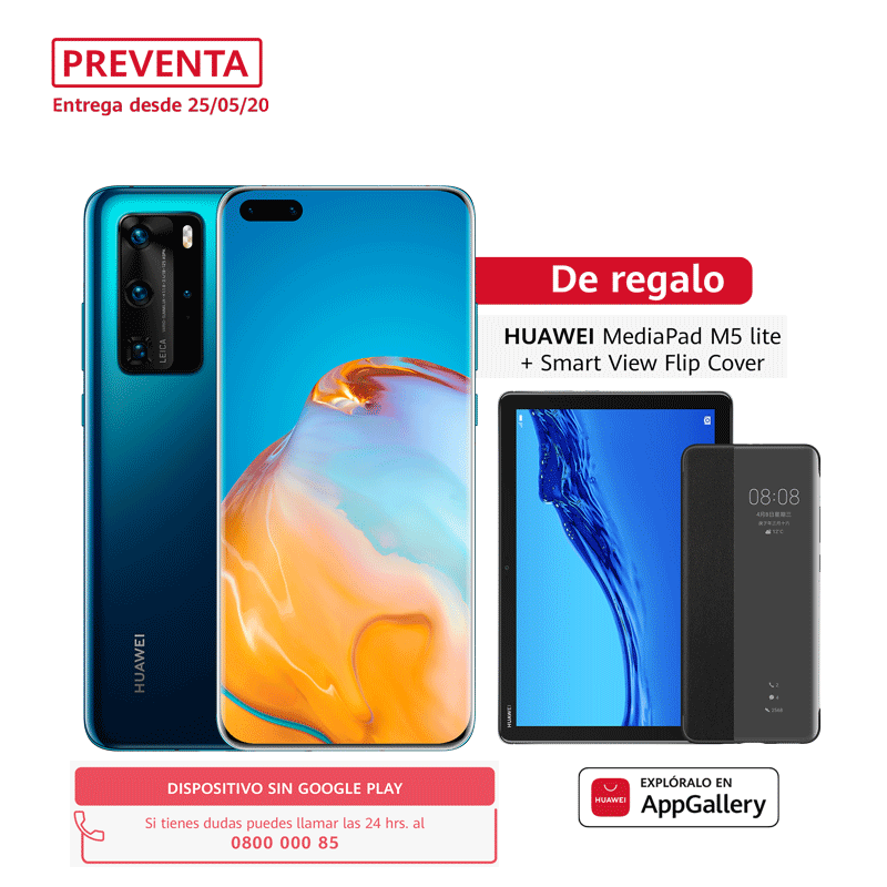 Huawei PREVENTA - P40 Pro 256GB - Deep Sea Blue