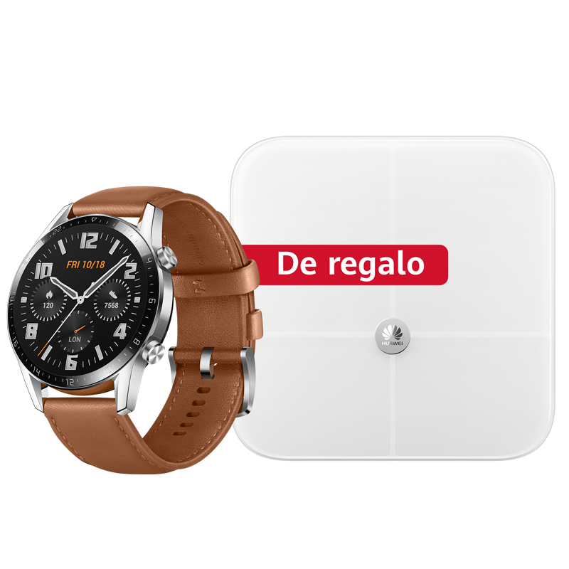 Huawei Smartwatch Huawei Watch GT2 - Pebble Brown + Balanza Huawei