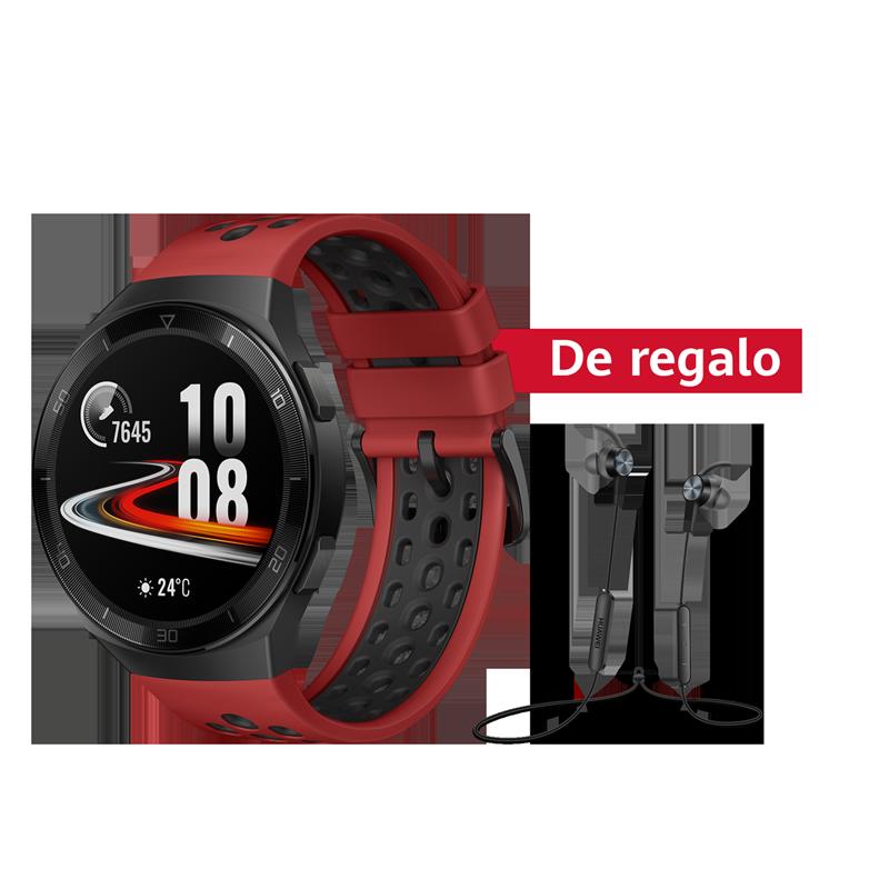 Huawei Smartwatch Huawei Watch GT 2e Rojo + Audífono Deportivo AM61