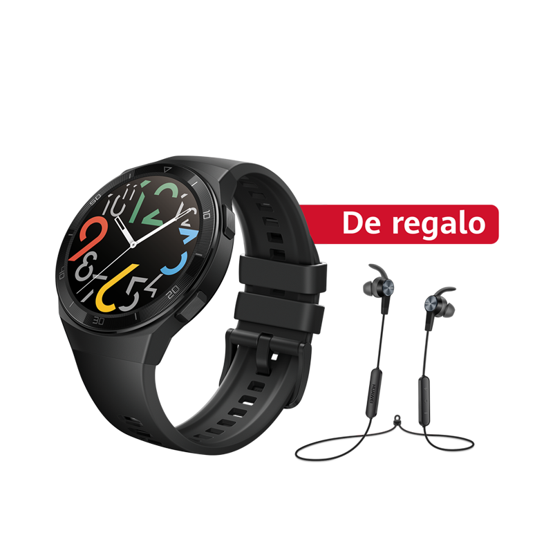 Huawei Smartwatch Huawei Watch GT 2e Negro + Audífono Deportivo AM61