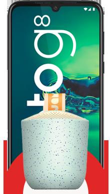 Motorola Moto G8 Plus 64GB + Parlante JAM ChillOut