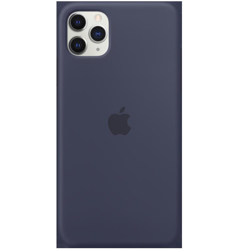 Apple Funda de Silicona para iPhone 11 Pro Max - Azul