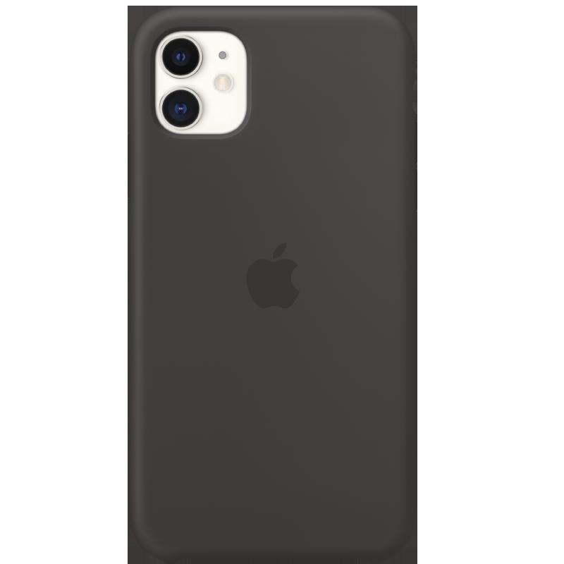 Apple Funda de Silicona para iPhone 11 - Negro