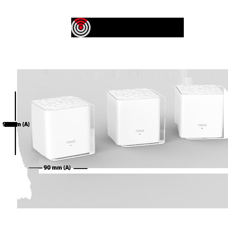 Nova Kit Nova x3 soportan velocidades hasta 100Mbps